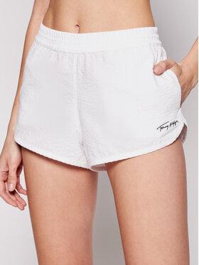 Tommy Hilfiger Tommy Hilfiger Shorts da mare UW0UW02967 Bianco Regular Fit