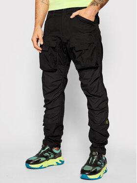G-Star Raw G-Star Raw Spodnie materiałowe 3D Cargo D19756-9706-6484 Czarny Regular Fit
