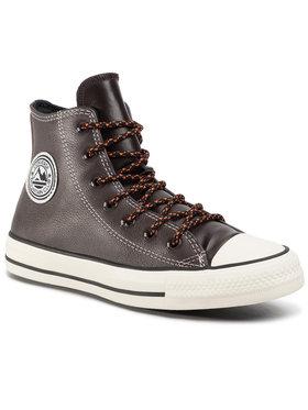 Converse Converse Sneakers aus Stoff Ctas Hi 165958C Braun