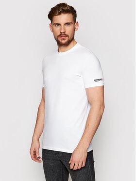 Dsquared2 Underwear Dsquared2 Underwear T-Shirt D9M203520 Bílá Regular Fit