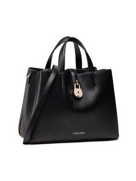 Calvin Klein Calvin Klein Kabelka Tote Md K60K607671 Čierna