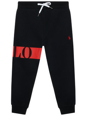 Polo Ralph Lauren Polo Ralph Lauren Παντελόνι φόρμας Po 322836645001 Μαύρο Regular Fit