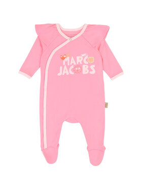 Little Marc Jacobs Little Marc Jacobs Śpiochy W97083 Różowy Regular Fit