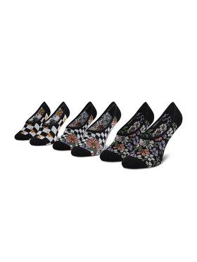 Vans Vans Σετ 3 ζευγάρια κάλτσες σοσόνια γυναικεία 3Pk Gar VN0A5I2L4481 Μαύρο