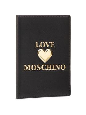 LOVE MOSCHINO LOVE MOSCHINO Etui pentru Acte JC5624PP1CLF0000 Negru