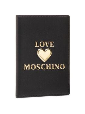 LOVE MOSCHINO LOVE MOSCHINO Puzdro na dokumenty JC5624PP1CLF0000 Čierna