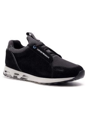 Emporio Armani Emporio Armani Sneakers X4X241 XL690 M997 Negru