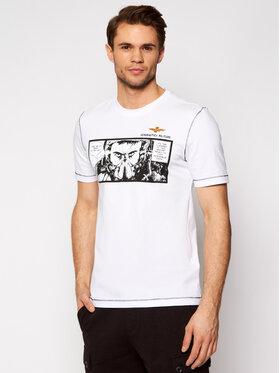 Aeronautica Militare Aeronautica Militare T-shirt 211TS1864J469 Bijela Regular Fit