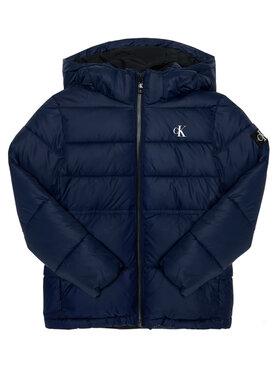 Calvin Klein Jeans Calvin Klein Jeans Μπουφάν πουπουλένιο Essentail IB0IB00557 Σκούρο μπλε Regular Fit