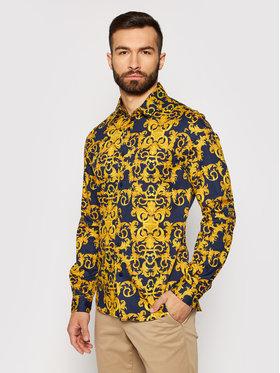 Versace Jeans Couture Versace Jeans Couture Chemise B1GWA6S0 Bleu marine Slim Fit