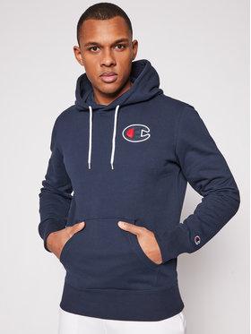 Champion Champion Sweatshirt Satin C Logo 214184 Bleu marine Comfort Fit