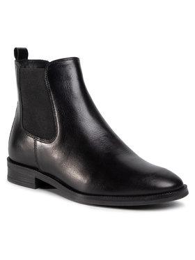 Gino Rossi Gino Rossi Kotníková obuv s elastickým prvkem I020-30090VRB Černá