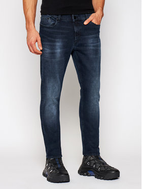 KARL LAGERFELD KARL LAGERFELD Jeansy Slim Fit 5-Pocket 265801 502835 Tmavomodrá Slim Fit