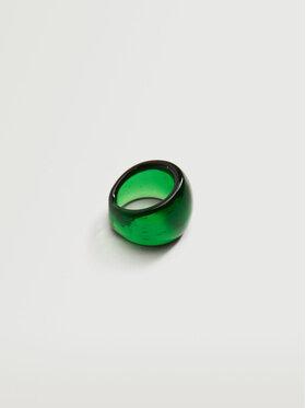 Mango Mango Gyűrű Lavanda 17051509 Zöld