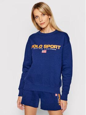 Polo Ralph Lauren Polo Ralph Lauren Majica dugih rukava 211838080005 Tamnoplava Regular Fit