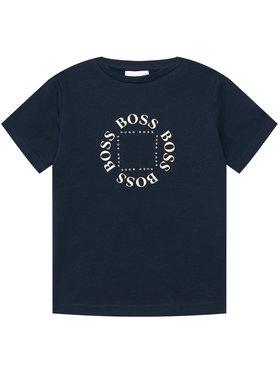 Boss Boss Marškinėliai J25G93 S Tamsiai mėlyna Regular Fit