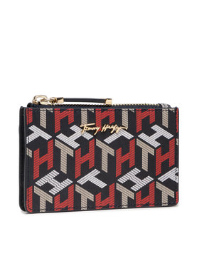 Tommy Hilfiger Tommy Hilfiger Custodie per carte di credito Iconic Tommy Cc Holder Corp Mono AW0AW10275 Blu scuro