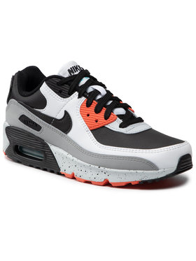 Nike Nike Обувки Nike Air Max 90 Ltr (GS) CD6864 110 Черен