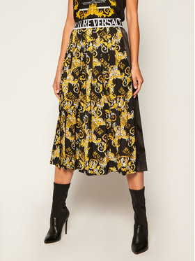 Versace Jeans Couture Versace Jeans Couture Plisuotas sijonas A9HZA303 Juoda Regular Fit