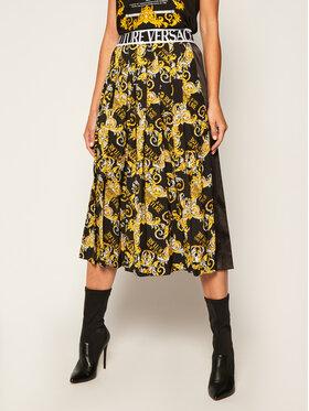 Versace Jeans Couture Versace Jeans Couture Spódnica plisowana A9HZA303 Czarny Regular Fit