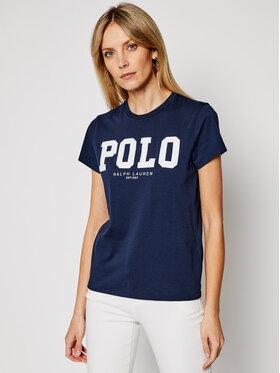Polo Ralph Lauren Polo Ralph Lauren T-shirt 211827660002 Bleu marine Slim Fit