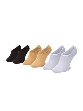 Calvin Klein Calvin Klein Zestaw 3 par stopek damskich 100003033 Kolorowy