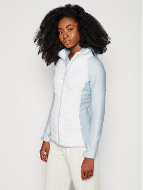 Columbia Columbia Átmeneti kabát Powder Lite Fleece 1803811100 Fehér Slim Fit