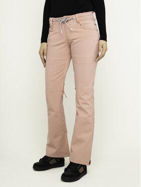 DC DC Pantaloni pentru snowboard Viva EDJTP03022 Roz Tailored Fit
