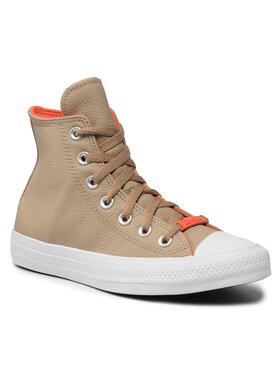 Converse Converse Sneakers aus Stoff Ctas Hi 571624C Beige