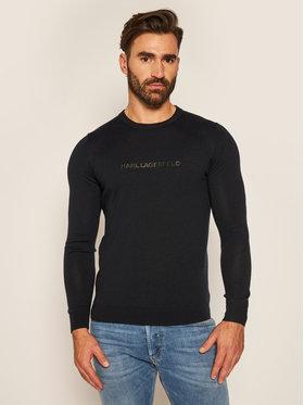KARL LAGERFELD KARL LAGERFELD Sweater Crewneck 655009 502399 Sötétkék Regular Fit