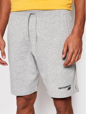 New Balance New Balance Pantaloni scurți sport C Flc Sht MS1190 Gri Athletic Fit