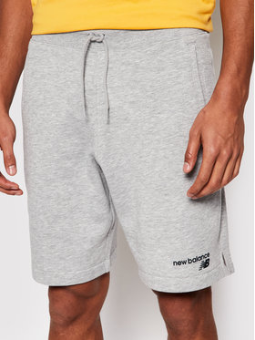 New Balance New Balance Sportske kratke hlače C Flc Sht MS1190 Siva Athletic Fit