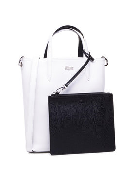 Lacoste Lacoste Дамска чанта Vertical Shopping Bag NF2991AA Бял