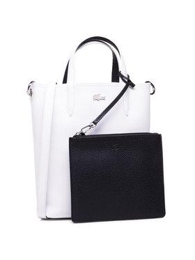 Lacoste Lacoste Sac à main Vertical Shopping Bag NF2991AA Blanc