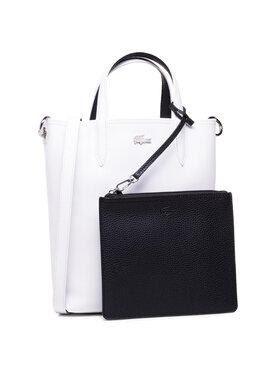 Lacoste Lacoste Torebka Vertical Shopping Bag NF2991AA Biały
