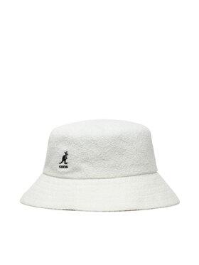 Kangol Kangol Kapelusz Bermuda Bucket K3050ST Biały