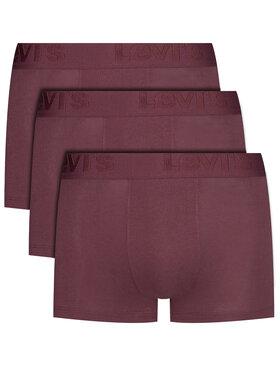 Levi's® Levi's® Lot de 3 boxers 905042001 Bordeaux