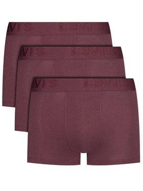 Levi's® Levi's® Sada 3 párů boxerek 905042001 Bordó