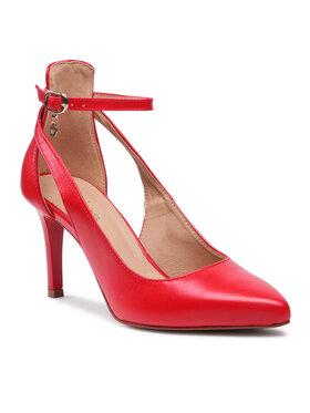 Wojas Wojas Обувки на ток 35018-55 Червен