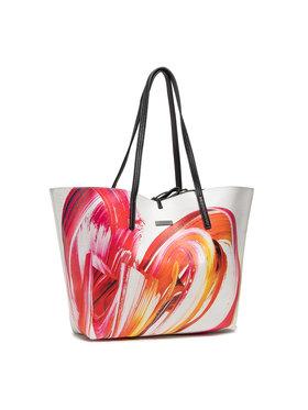Desigual Desigual Τσάντα 21SAXPCJ/1000 Ασημί