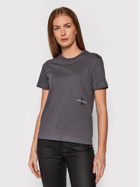 Calvin Klein Jeans Calvin Klein Jeans T-Shirt J20J216469 Szary Regular Fit