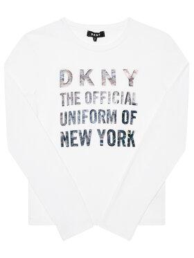 DKNY DKNY Blusa D35Q81 D Bianco Regular Fit