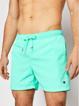 Tommy Hilfiger Tommy Hilfiger Σορτς κολύμβησης UM0UM02041 Πράσινο Slim Fit