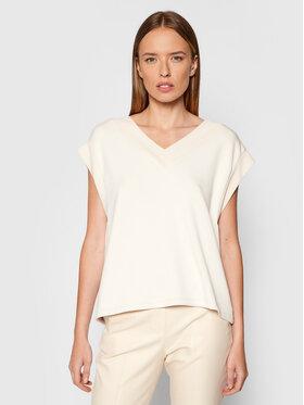 Vero Moda Vero Moda Bluzka Silky 10257332 Beżowy Regular Fit