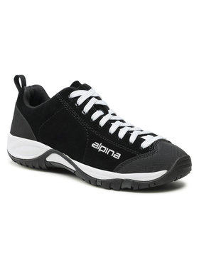 Alpina Alpina Παπούτσια πεζοπορίας Diamond 634A-1K Μαύρο
