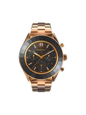 Swarovski Swarovski Часовник Octea Lux Sport 5610478 Черен