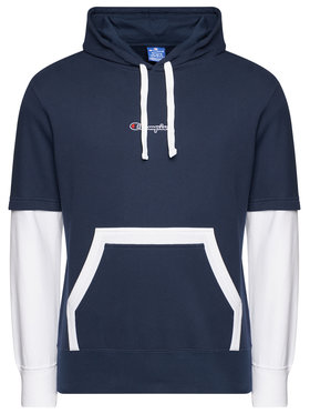 Champion Champion Bluză Sweats 215283 Bleumarin Comfort Fit