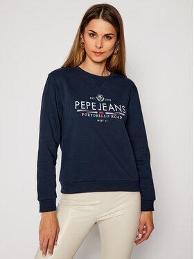 Pepe Jeans Pepe Jeans Bluza Celina PL580987 Granatowy Regular Fit