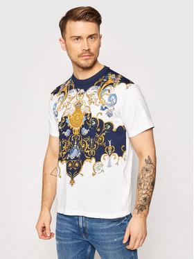 Versace Jeans Couture Versace Jeans Couture T-shirt B3GWA7R0 Bijela Regular Fit