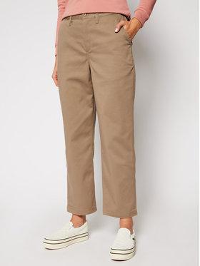 Vans Vans Текстилни панталони Authentic Chino VN0A47SE Бежов Regular Fit